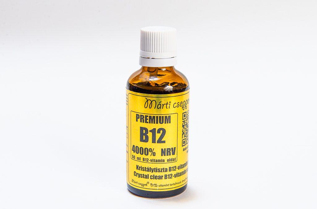 Ezért fontos a B12 vitamin